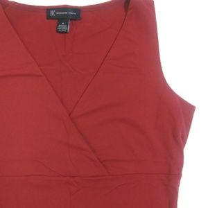 INC International Concepts red sleeveless top